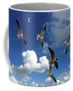 Flying High In The Clouds Coffee Mug