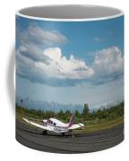 Flying In Alaska Coffee Mug