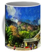 Flying Into Paradise Coffee Mug