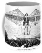Flying Machine, 1807 Coffee Mug