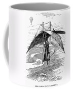 Flying Mans Parachute Coffee Mug