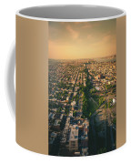 Flying Over Jersey City Coffee Mug