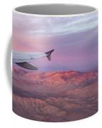 Flying Over The Mojave Desert At Sunrise Coffee Mug