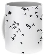 Flying Pigeons Coffee Mug