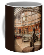 London, England - Flying Time Coffee Mug by Mark Forte