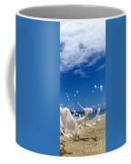 Foam Burst -  Triptych - 3 Of 3 Coffee Mug