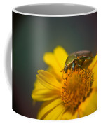 Focused June Beetle Coffee Mug