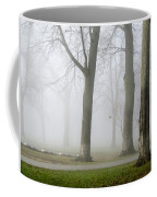 Fog Amongst The Trees Coffee Mug
