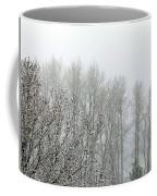 Fog And Light Snow Coffee Mug