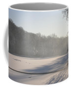 Fog And Snow Coffee Mug