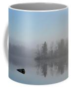 Fog At Dawn On The Pond Coffee Mug