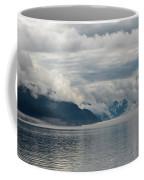 Fog Bank In Gastineau Channel Coffee Mug