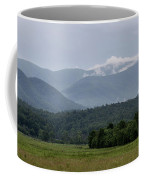 Fog Forming In The Mountains Coffee Mug