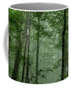 Fog In The Forest Coffee Mug