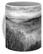 Fog In The Mountains - Pipestem State Park Coffee Mug
