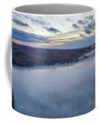 Fog On Goose Lake Coffee Mug