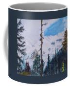 Fog On Mt. Rainer Coffee Mug