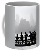 Fog On The Hudson Coffee Mug