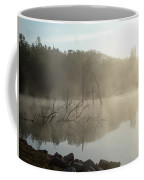 Fog On The Lake Coffee Mug