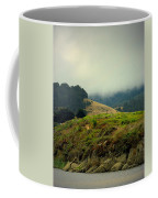 Fog Over The Lagoon Coffee Mug
