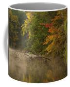 Fog Rolls Into Fall Coffee Mug