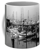 Foggy Boats Coffee Mug