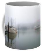 Foggy Cape May Harbor Coffee Mug