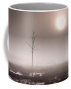 Foggy Dawn And The Burning Sun Coffee Mug