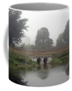 Foggy Day On A Canal Coffee Mug