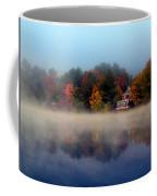 Foggy Fall Reflections Coffee Mug