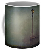 Foggy Lampost Coffee Mug