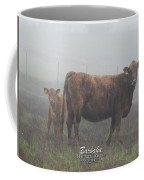Foggy Mist Cows #0090 Digitally Altered Coffee Mug