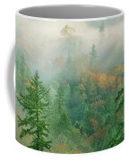 Foggy Morning In Humbolt County California Coffee Mug