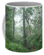 Foggy Morning In The Woods Coffee Mug