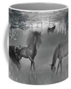 Foggy Morning Pasture Coffee Mug