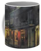 Foggy Night On Dumaine Coffee Mug