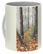 Foggy Path Coffee Mug