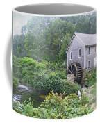 Foggy Stony Brook Grist Mill Cape Cod Coffee Mug