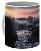 Foggy Sunrise At Chasewater Coffee Mug