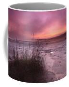 Foggy Sunset At Singing Sands Coffee Mug