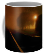 Foggy Tracks Coffee Mug