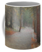 Foggy Trail Near Bear Lake Coffee Mug