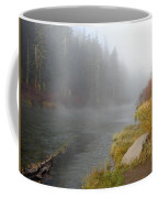 Foggy Truckee River Coffee Mug