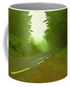 Foggy Way.  Coffee Mug