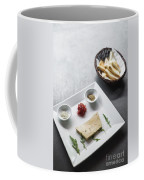 Foie Gras French Traditional Duck Pate With Bread  Coffee Mug