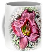 Foiled Beauty - Daylily Coffee Mug