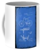 Folding Bycycle Patent Drawing 1d Coffee Mug