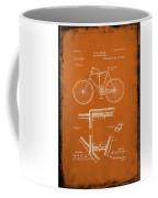 Folding Bycycle Patent Drawing 1g Coffee Mug