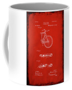 Folding Bycycle Patent Drawing 2b Coffee Mug