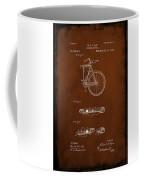 Folding Bycycle Patent Drawing 2c Coffee Mug